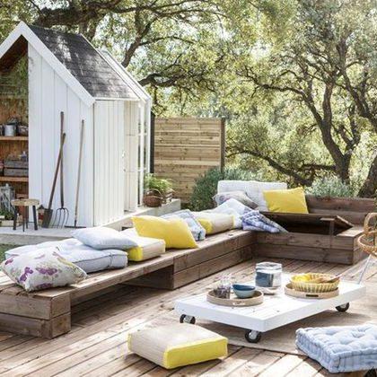 fabriquer un salon de jardin en palettes