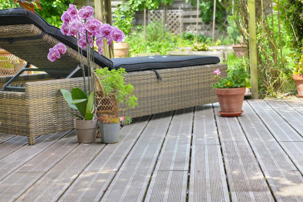 matériaux bains de jardin