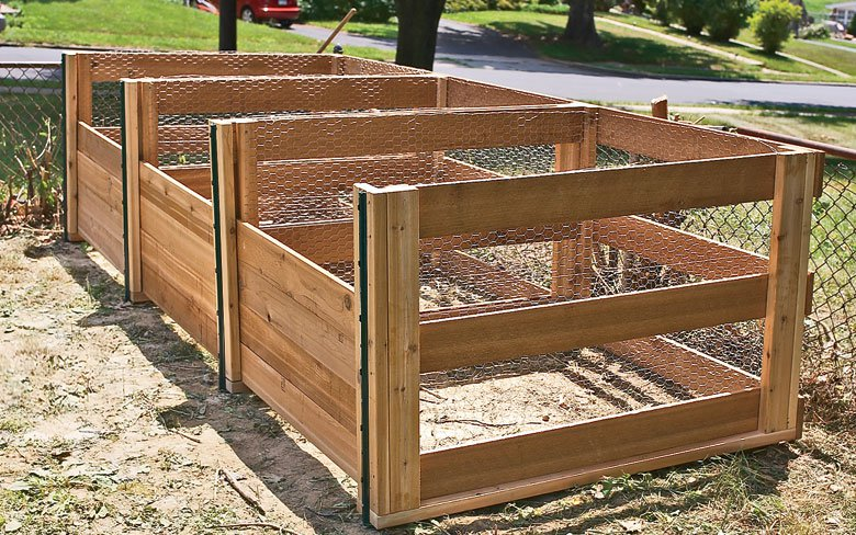 faire son bac à compost