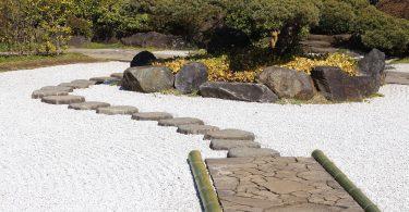 rocaille de jardin